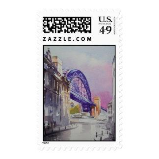 Puente de Tyne de decano Street Postage Franqueo