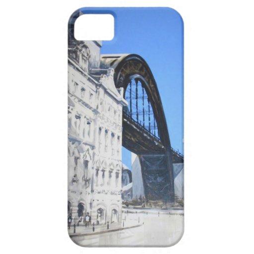 Puente de Tyne del compañero del caso del iPhone 5 Funda Para iPhone SE/5/5s