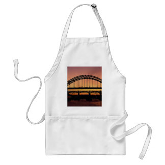 Puente de Tyne, Newcastle, Inglaterra Delantal