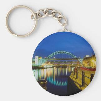 Puente de Tyne, Newcastle-upon-Tyne, Inglaterra Llavero Personalizado