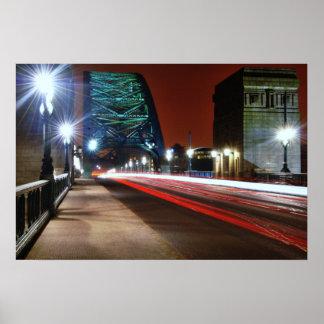 Puente de Tyne Posters