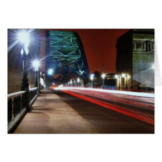 Puente de Tyne Tarjeta
