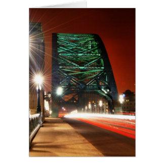 Puente de Tyne Tarjetón