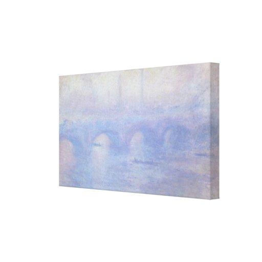 Puente de Waterloo por arte del impresionismo de Impresion En Lona