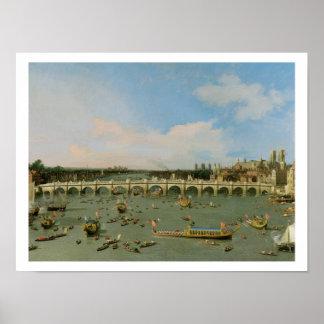 Puente de Westminster, Londres, con el señor el al Impresiones