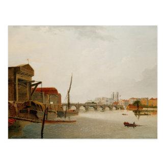 Puente de Westminster Tarjetas Postales