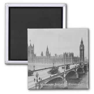 Puente de Westminster y las casas de Imán Cuadrado