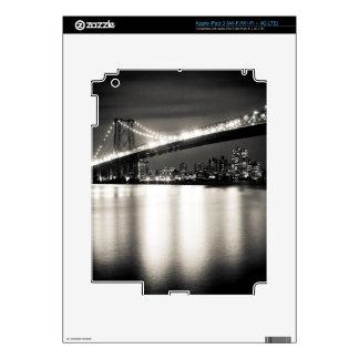 Puente de Williamsburg en New York City en la noch iPad 3 Skins