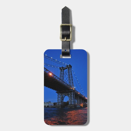 Puente de Williamsburg Etiqueta Para Equipaje