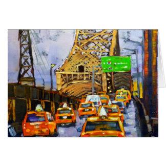 Puente de Williamsburg, Manhattan Tarjeta De Felicitación
