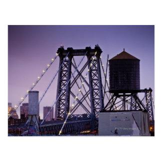 Puente de Williamsburg Tarjetas Postales