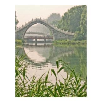 Puente de Xiuyi Flyer A Todo Color