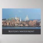 Puente de Zakim de Boston Poster