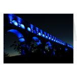 Puente del acueducto de Le Pont du Gard, París Tarjeta De Felicitación