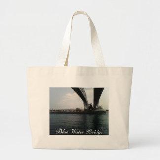 Puente del agua azul bolsas
