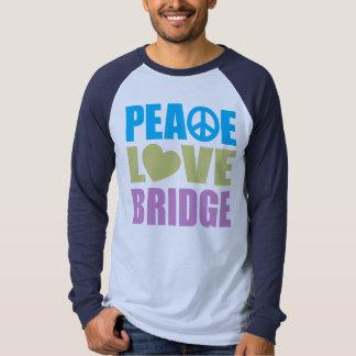Puente del amor de la paz camisas