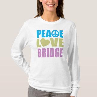 Puente del amor de la paz playera
