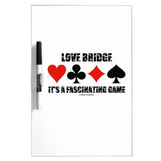 Puente del amor es un juego fascinador (los juegos pizarras