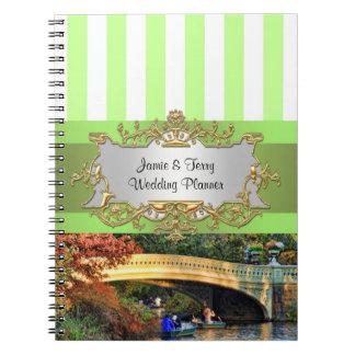 Puente del arco, cuaderno del planificador del