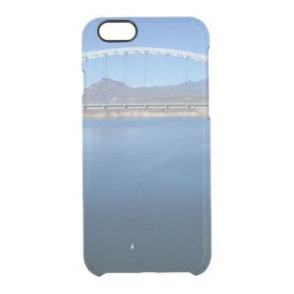Puente del arco del lago roosevelt funda clear para iPhone 6/6S