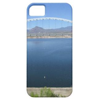 Puente del arco del lago roosevelt funda para iPhone SE/5/5s