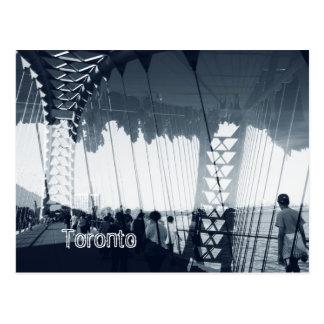 Puente del arco del río de Humber, Toronto, Sunnys Postal