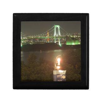Puente del arco iris de Japón Caja De Regalo