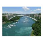 Puente del arco iris, Niagara Falls Postal