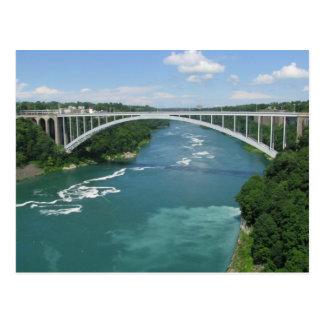 Puente del arco iris, Niagara Falls Tarjetas Postales