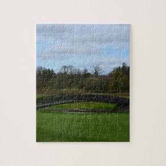 Puente del campo de golf puzzle con fotos