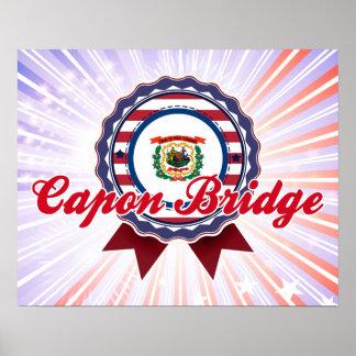 Puente del capón, WV Impresiones