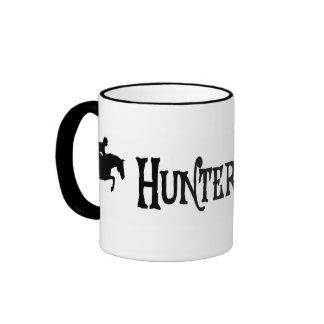 Puente del cazador (estilo del pirata) taza de café