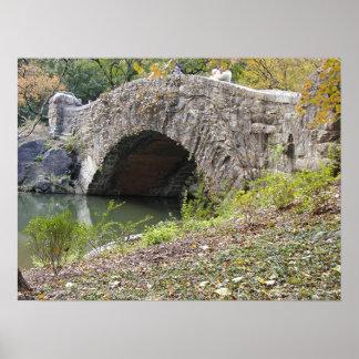 Puente del Central Park Póster