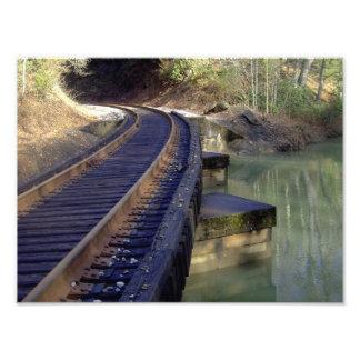 Puente del ferrocarril fotografía