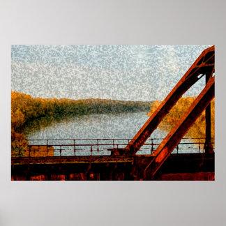 Puente del ferrocarril impresiones