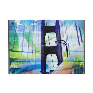 puente del goldengate del acuario del vintage de S iPad Mini Carcasa