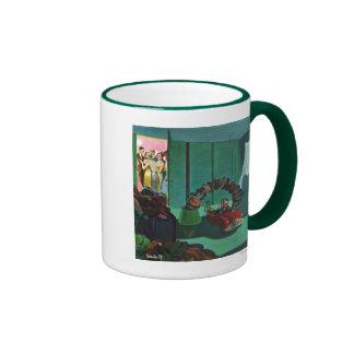 Puente del gorra taza de café
