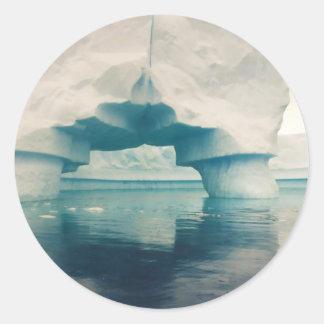 Puente del hielo pegatina