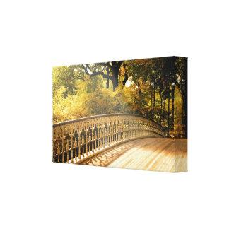 Puente del hierro labrado lona estirada galerias