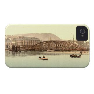 Puente del hierro, Ramsay, isla del hombre Case-Mate iPhone 4 Fundas