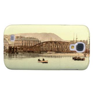 Puente del hierro, Ramsay, isla del hombre Funda Para Galaxy S4