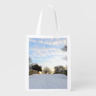 Puente del invierno bolsa de la compra
