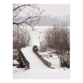 Puente del invierno postal
