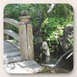 Puente del jardín posavasos