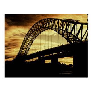 Puente del jubileo de plata tarjetas postales