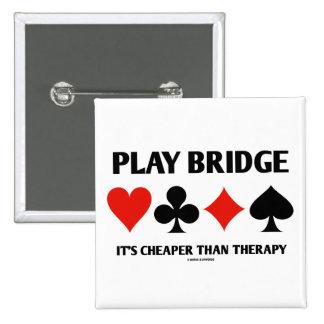Puente del juego es más barato que la terapia (los pins