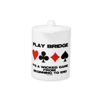 Puente del juego es un juego travieso del extremo