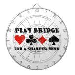 Puente del juego para una mente más aguda (cuatro  tabla dardos