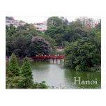 puente del lago de Hanoi Postal