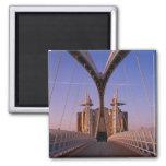 Puente del milenio, centro de Lowry, Salford Imán De Nevera